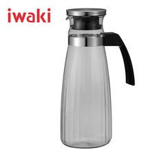 Iwaki เหยือกน้ำแก้ว ขนาด 1300 ml. - สีดำ
