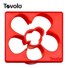 Tovolo แม่พิมพ์แซนด์วิซ ลาย Ladybug/Flower - Red
