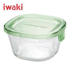 Iwaki ภาชนะแก้วบรรจุอาหาร ขนาด 200 ml. รุ่น K3200-P - สีเขียว