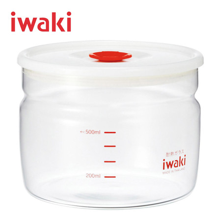 Iwaki ภาชนะใสสุญญากาศ ขนาด 550 ml. รุ่น KT7001MP-R