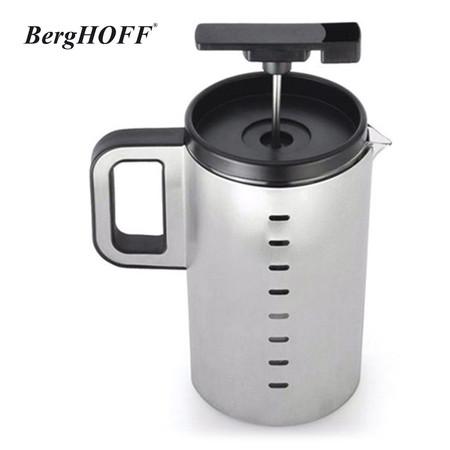 BergHOFF เหยือกกาแฟแบบกด 800 ml. พร้อมช้อนตักกาแฟ