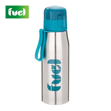 Fuel ขวดน้ำสเตนเลส 17 oz (500 ml.) - สีน้ำเงิน