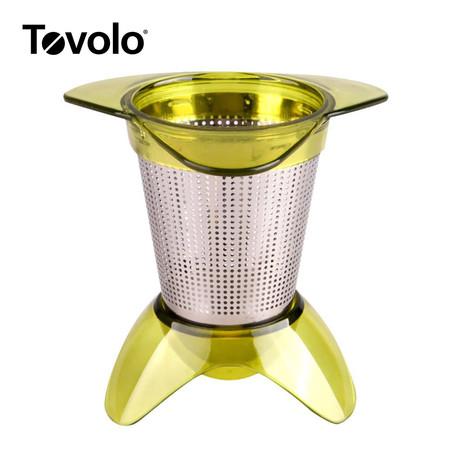 Tovolo ที่กรองชาแบบวางในถ้วย