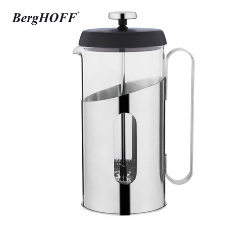 BergHOFF เหยือกกาแฟสไตล์ฝรั่งเศส French Press Coffee & Tea 1000 ml.