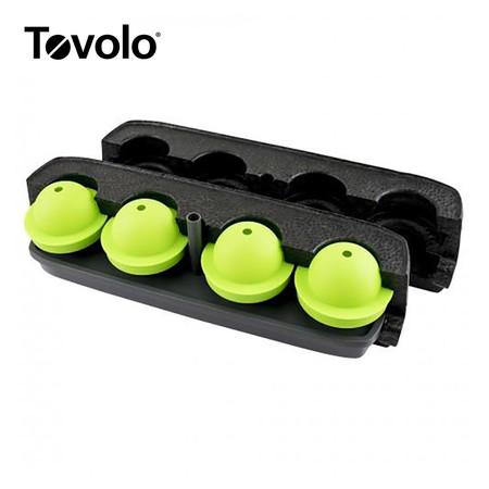 Tovolo พิมพ์น้ำแข็งกลมใส 4 ลูก