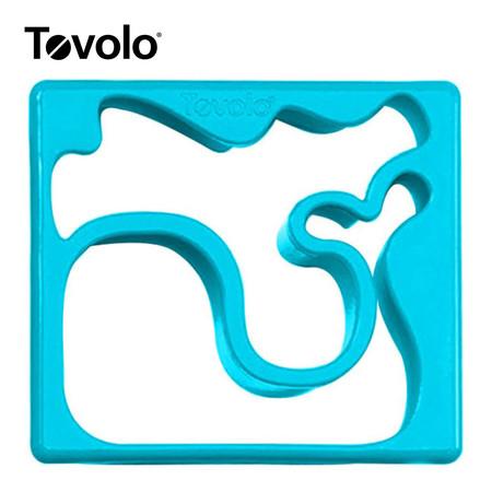 Tovolo แม่พิมพ์แซนด์วิซ ลาย Whale/Octopus - Light Blue