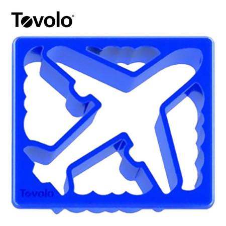 Tovolo แม่พิมพ์แซนด์วิซ ลาย Plane/Clouds - Blue