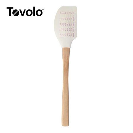 Tovolo ทัพพีด้ามไม้คลาสสิก