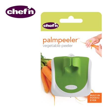 Chef'N อุปกรณ์ปอกเปลือกผักและผลไม้ รุ่น Palm Peeler CDU - สี Arugula
