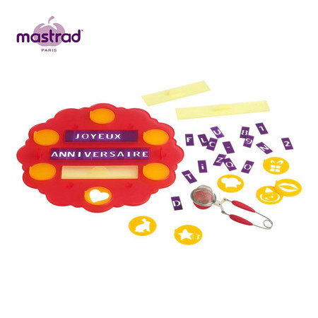 Mastrad ชุดตัวอักษรแต่งหน้าเค้ก