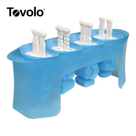 Tovolo แม่พิมพ์ไอศกรีม รูปหุ่นยนต์ 4 แท่ง/ชุด