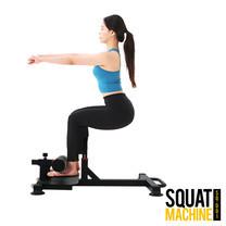 Homefittools-เครื่องสควอท เครื่องออกกำลังกาย บริหารขาและหน้าท้อง เครื่องช่วยสควอท Squat Exercise Machineม้านั่งสควอท ม้านั่งเล่นขา