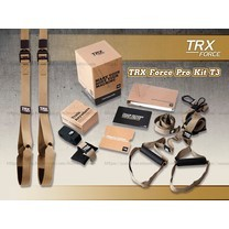 เชือกออกกำลังกาย TRX เชือกออกกำลังกาย TRX Pro : T3 Suspension Training Kit Free DVD