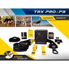 เชือกออกกำลังกาย เชือกโยคะ TRX Pro : P3 Suspension Training Kit  Free DVD - Homefittools