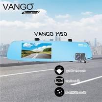 VANGO M50 กล้องติดรถแบบกระจกพร้อมกล้องหลัง ที่ชัดกลางคืนและคุ้มค่าที่สุด