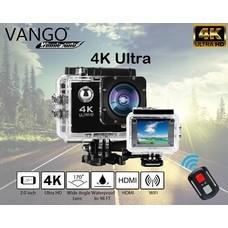 VANGO ACTIONCAM 4K แบบมีRemote กล้องแอคชั่นแคม สำหรับภายนอกกันน้ำในการเดินทาง