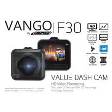 VANGO F30 กล้องติดรถยนต์ กล้องหน้าตัวเดียว เล็ก กระทัดรัด ทนทาน คมชัดระดับ HD