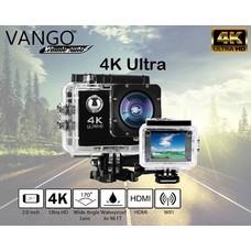 VANGO กล้องสปอร์ต 4K ULTRAHD WIFI เป็นกล้อง Action cam LCD 2นิ้ว