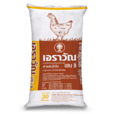อาหารไก่ไข่ เฮน8 30 กก.