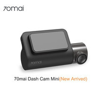70mai Smart Dash Cam Mini 1600HD กล้องติดรถยนต์คมชัด 4K/เลนส์กว้าง 140 องศา/แบตเตอรี่ขนาดใหญ่ 500mAh (รับประกันศูนย์ 1 ปี)