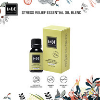LALIL Stress Relief Essential Oil Blend 10 ml น้ำมันหอมระเหย สร้างบรรยากาศความหอมผ่อนคลาย ช่วยลดความตึงเครียด