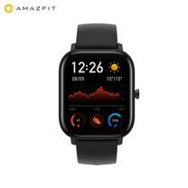 AMAZFIT GTS 1.65 นิ้วจอแสดงผล AMOLED GPS Smart Watch 12 โหมดกีฬา 5ATM กันน้ำอายุการใช้งานแบตเตอรี่ 14 วัน / Mac Modern