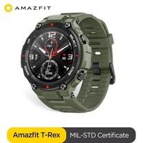 Amazfit T-Rex Smart Watch 5ATM AMOLED GPS + GLONASS Global Version ประกันศูนย์ไทย 1 ปี By Mac Modern