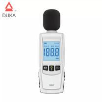 DUKA Hand-held High-precision Digital Display Decibel Meter เดซิเบล 30 ~ 130/35 ~ 130dBC เครื่องตรวจจับดิจิตอลเครื่องมือยานยนต์ไมโครโฟน By Mac Modern