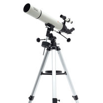 BeeBest telescope white professional stargazing outdoor viewing with high-precision equatorial mount By Mac Modern