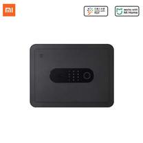 MIJIA Smart Safe Deposit Box ตู้เซฟนิรภัยล็อคนิรภัยมากถึง 6 จุดปลดล็อคด้วยระบบลายนิ้วมือ,กุญแจ,รหัสแบบ OTPและ Bluetooth