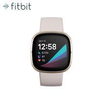 Fitbit Sense สมาร์ทวอทช์สายสุขภาพ รุ่น Sense ฟังก์ชั่นครบครัน มาพร้อมเซนเซอร์ EDA เพื่อบริหารจัดการความเครียด รับประกันสินค้า 1 ปี
