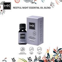 LALIL Restful Night Essential Oil Blend 10 ml เพื่อผู้ที่มีปัญหานอนไม่หลับ พักผ่อนไม่เป็นเวลาหรือสมองล้า