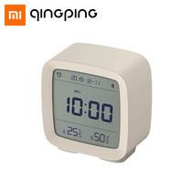 Qingping Bluetooth 3 in 1 Alarm Clock นาฬิกาปลุกบลูทูธอัจฉริยะ บอกอุณหภูมิ ความชื้น ควบคุมผ่านแอพได้