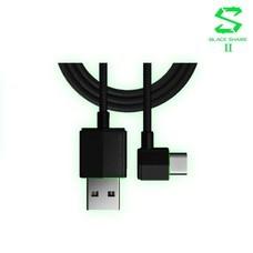 Black Shark Right-angle USB-C Cable สายชาร์จหักมุม 90 องศา สนับสนุนการเล่นเกมและช่วยถนอมสายไนล่อน / Mac Modern