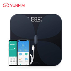 Yunmai Pro Bluetooth Scale for Weight and Body Fat เครื่องชั่งน้ำหนักชิปตรวจวัดไขมัน BIA แบตเตอรี่ในตัวแบบชาร์จไฟได้ By Mac Modern