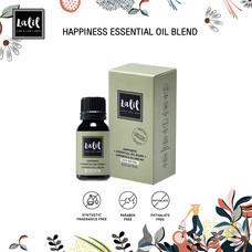 LALIL Happiness Essential Oil Blend 10 ml น้ำมันหอมระเหย ที่ช่วยรังสรรค์บรรยากาศของความหอมสดชื่น ผ่อนคลาย