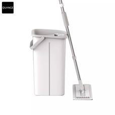 QUANGE Rubber and Cotton Mop QJ030101 ไม้ถูพื้น ไม้ม็อบหัวแบนรีดน้ำและผงฝุ่นในตัว By Mac Modern