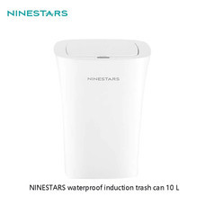 Ninestars Plastic Sensor Trash Can 10L ถังขยะอัจฉริยะฝาเปิดปิดเองอัตโนมัติความจุ 10 ลิตร