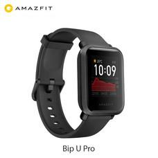 Amazfit Bip U Pro Smartwatch นาฬิกาสมาร์วอทช์ตรวจจับคลื่นแม่เหล็กไฟฟ้า/มี GPS ในตัว/กันน้ำ5ATM/วัดระดับออกซิเจนในเลือด รับประกันศูนย์ไทย 1 ปี