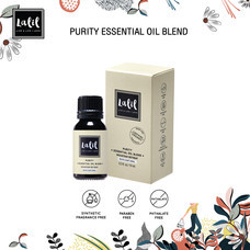 LALIL Purity Essential Oil Blend 10 ml น้ำมันหอมระเหย ที่ช่วยรังสรรค์บรรยากาศให้หอม สะอาด ราวอากาศบริสุทธิ์