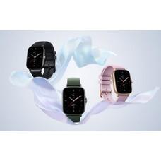 Amazfit GTS 2e Smartwatch จอแสดงผล AMOLED1.39 นิ้ว/วัดอุณหภูมิร่างกาย/วัดค่าอ๊อกซิเจนในเลือด (รับประกันศูนย์ไทย 1 ปี)