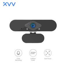 Xiaovv HD USB Webcam 2 Million Pixels กล้องเว็บแคมมุมกว้าง 150°/ความละเอียดสูงคุณภาพสูง720P/พร้อมไมค์ในตัว