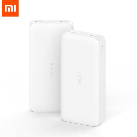 Xiaomi Redmi Power Bank 20000mAh 18W QC3.0 PowerBank Fast แบตเตอรี่สำรองรองรับการชาร์จเร็ว ความจุ 20,000 mAh รับประกันศูนย์ 1 ปี By Mac Modern