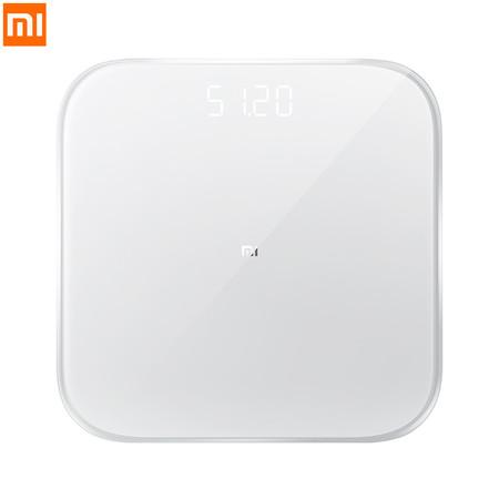 Xiaomi Mi Scale 2 Smart Body Weighing เครื่องชั่งน้ำหนักอัจฉริยะ หน้าจอ LED เชื่อมต่อผ่าน Bluetooth