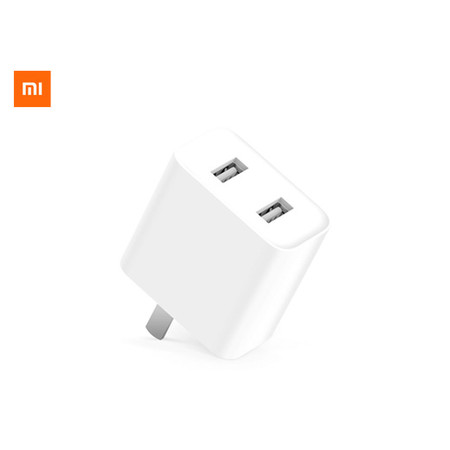Xiaomi USB charger 36W charging USB 2 หัวชาร์จ USB 2 พอร์ต รองรับการชาร์จเร็ว (36 วัตต์)