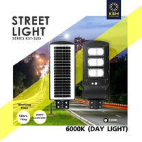 โคมไฟถนน led Solar Street Light รุ่น KST-S2G by KBM LIGHTING
