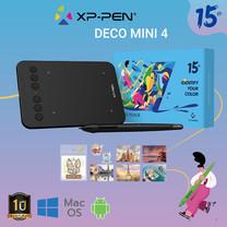 เมาส์ปากกา XP-Pen Deco Mini 4 - 15th year Anniversary Edition รองรับระบบปฏิบัติการ (Windows/ Mac OS/ Android)