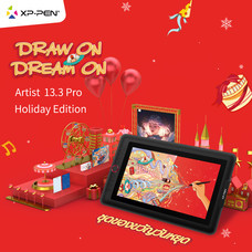 XP-Pen Artist 13.3 Pro Holiday Edition รองรับระบบปฏิบัติการ (Windows/ Mac OS)