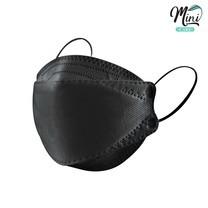 Minicare หน้ากากกันฝุ่น PM2.5 หน้ากากอนามัย สไตล์เกาหลี สีดำ แบบกล่อง 10 ชิ้น