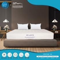 SleepHappy รุ่น Atlantis 3.5 ฟุต (แน่น) ที่นอนโรงแรมพ็อกเก็ตสปริงในกล่อง ที่นอนเพื่อสุขภาพ หนา10นิ้ว